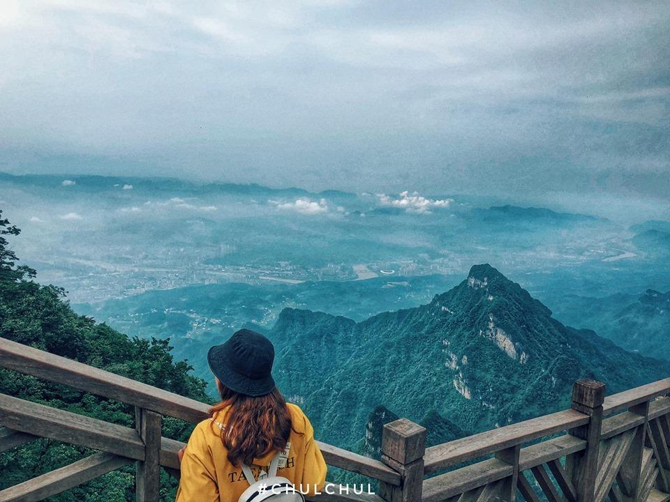 Thiên Môn Sơn- chốn bồng lai tiên cảnh tại xứ Trung