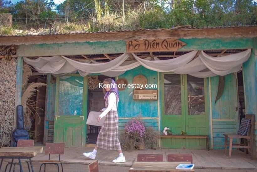 """Bà Điên Quán Café - Nơi có background """"đắt xắt ra miếng"""" ở Đà Lạt"""