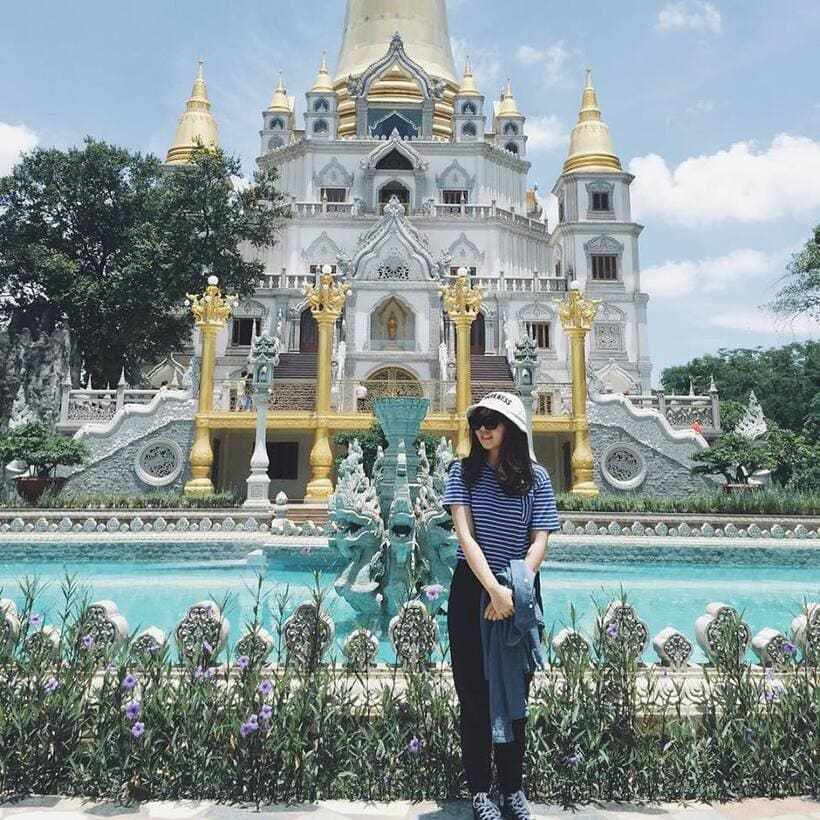 """Chùa Bửu Long: ngôi chùa """"không nhang khói"""" đẹp lừng lẫy tại Sài Gòn"""