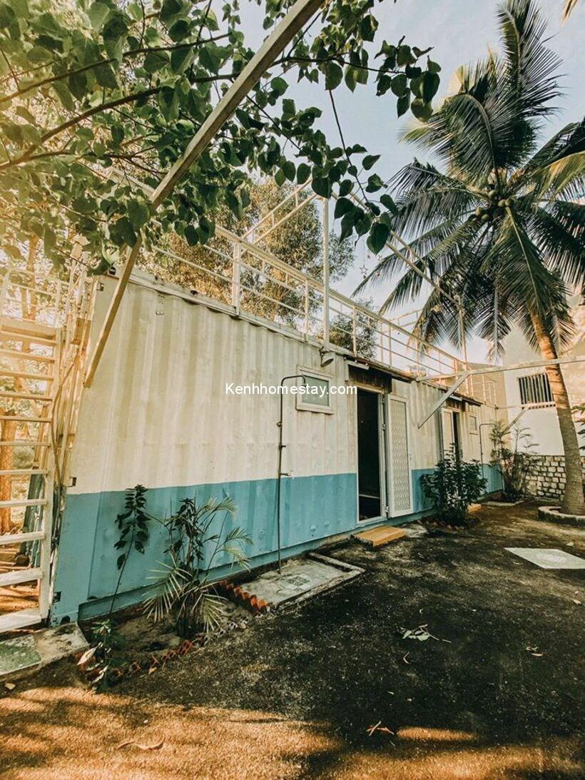 Homestay Rừng Dầu Lagi: Khu nghỉ container mộc mạc ven biển Bình Thuận