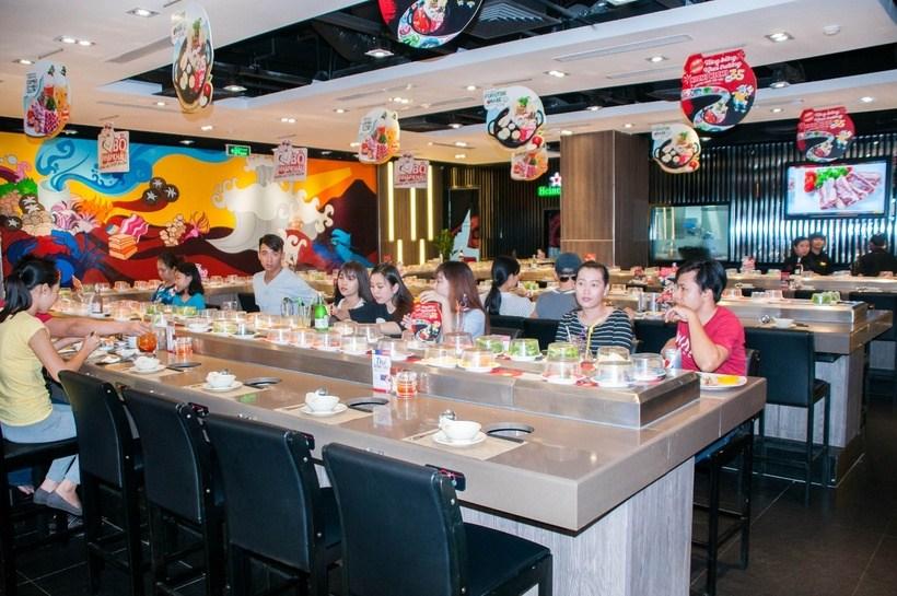 Top 10 nhà hàng quán lẩu băng chuyền Sài Gòn TPHCM ngon nhất
