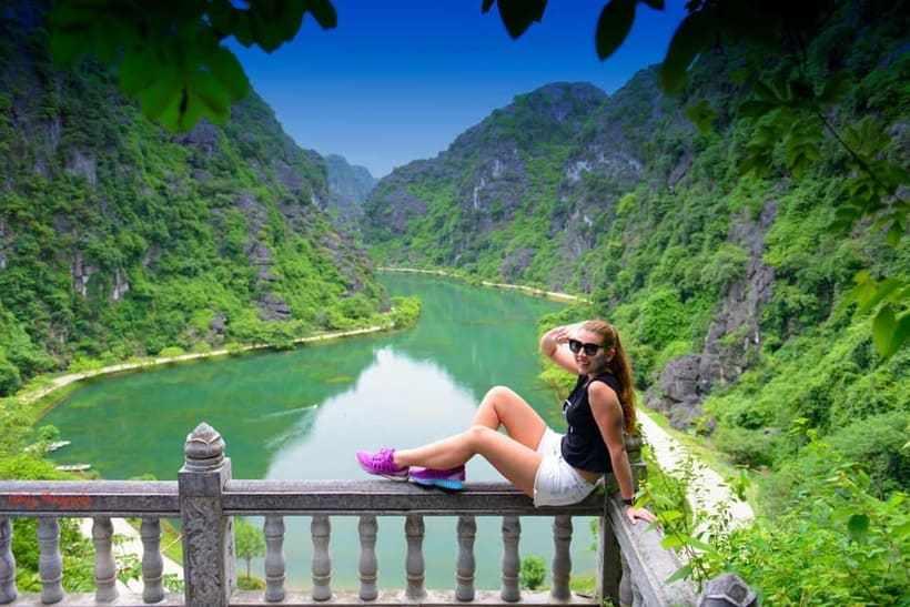 Tam Coc Garden Homestay: Thưởng ngoạn view 360 độ núi non, đồng ruộng