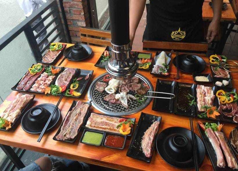 Top 20 nhà hàng quán buffet nướng BBQ ngon ở Sài Gòn – Hà Nội