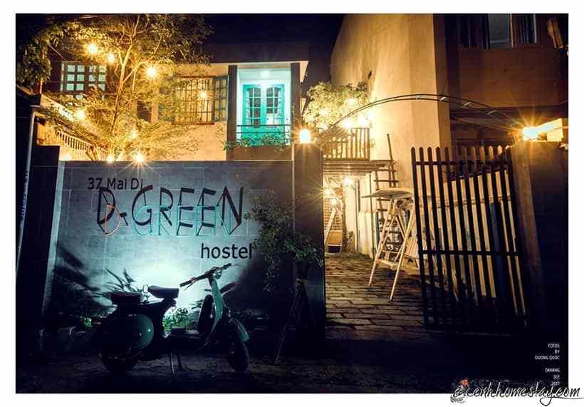 D – Green Hostel: View đẹp, yên bình tha hồ sống ảo mọi góc máy