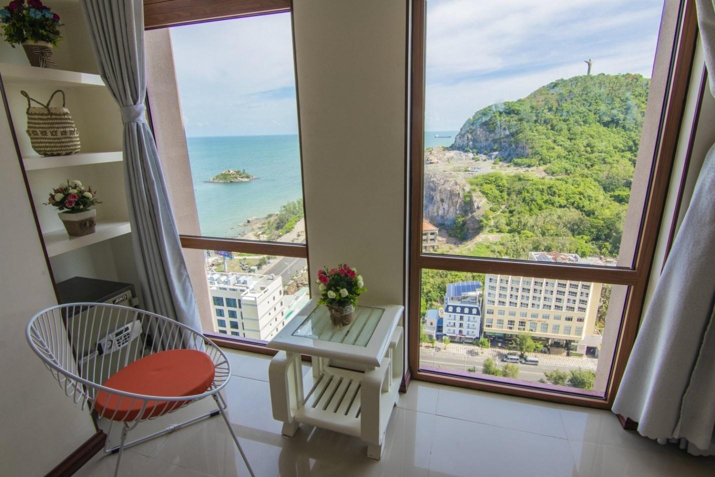 Green House Vũng Tàu 3: Căn hộ view biển Bãi Sau cực đẹp nên nghỉ dưỡng