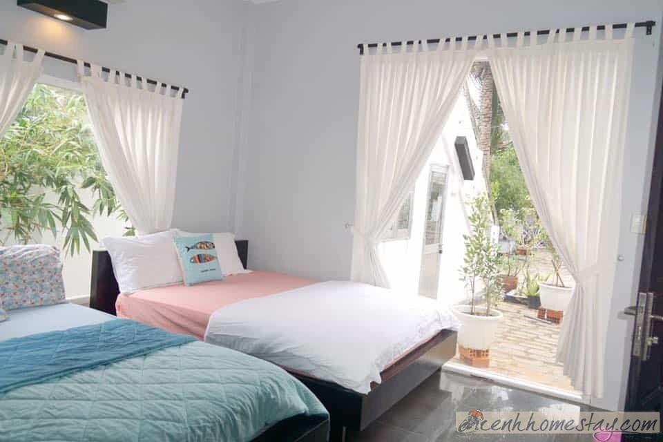 10 homestay Mũi Né giá rẻ ở Phan Thiết Bình Thuận gần biển, trung tâm