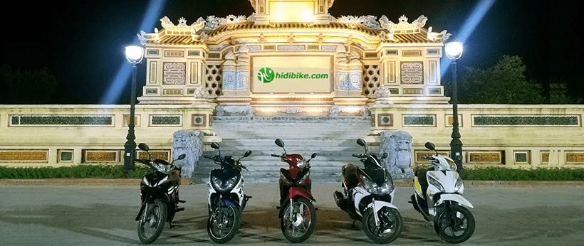 Tổng hợp những địa chỉ cho thuê xe máy tại Huế tốt nhất, giá rẻ nhất
