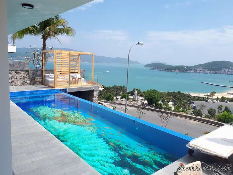 10 Homestay villa Nha Trang có hồ bơi đẹp gần biển giá rẻ đẹp nhất