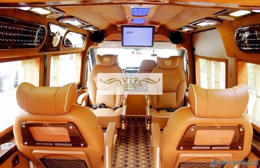 TOP Nhà xe limousine Sài Gòn An Giang giường nằm tốt nhất