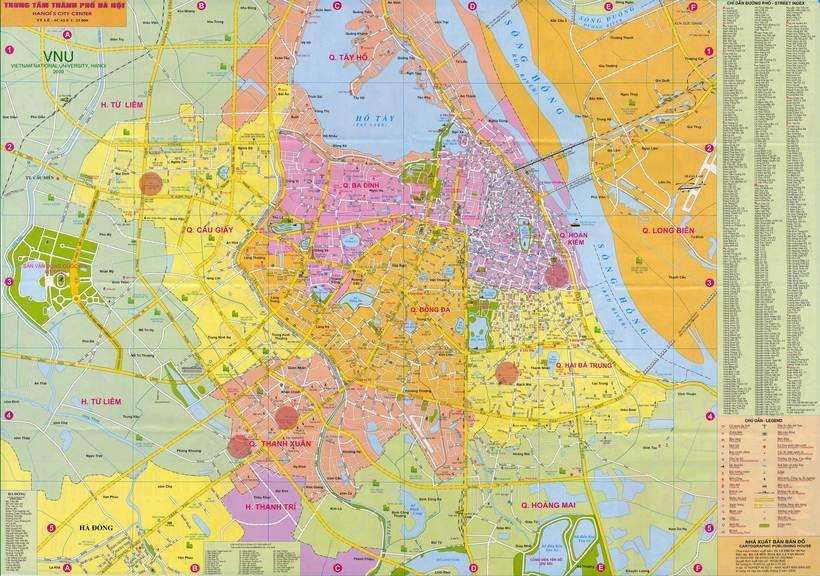 Bản đồ Hà Nội: Bản đồ các quận huyện ở Hà Nội mới nhất – Update 2020