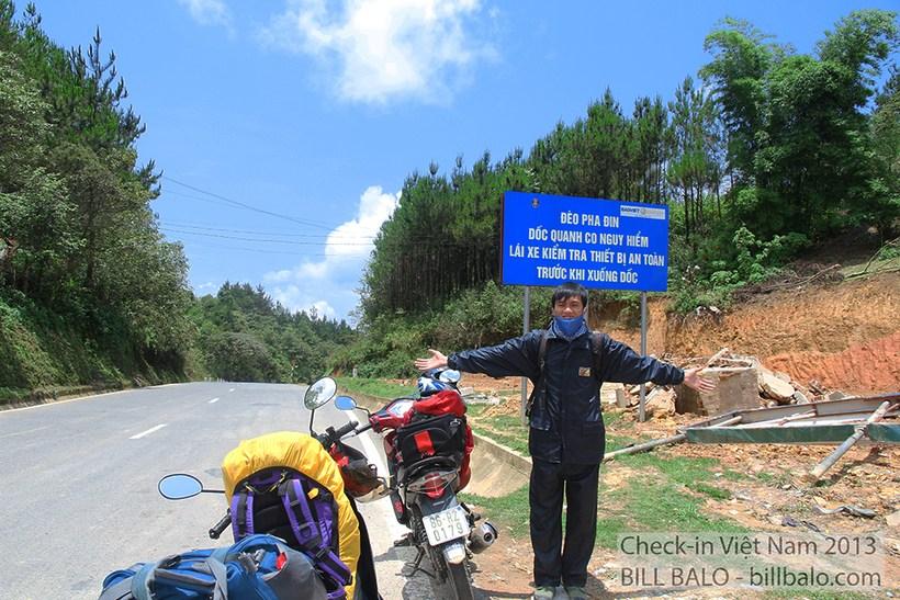 Đèo Pha Đin ở đâu, có gì hay, kinh nghiệm phượt đèo bằng xe máy