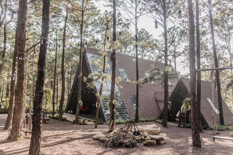 Truy lùng villa La Pineta lọt thỏm giữa rừng thông ở ngoại ô Hà Nội