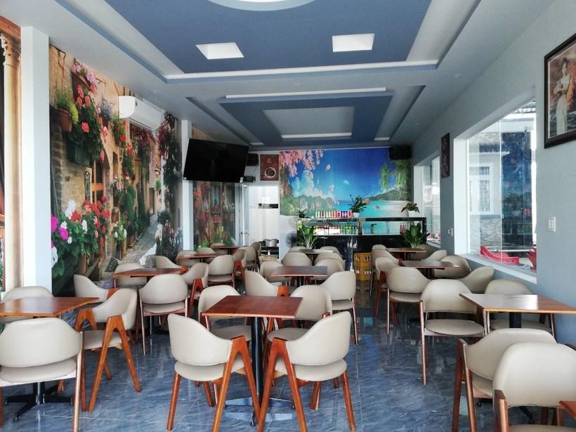 Nhà nghỉ Kim Anh giá rẻ view đẹp nhất đảo Hòn Sơn có sân làm BBQ