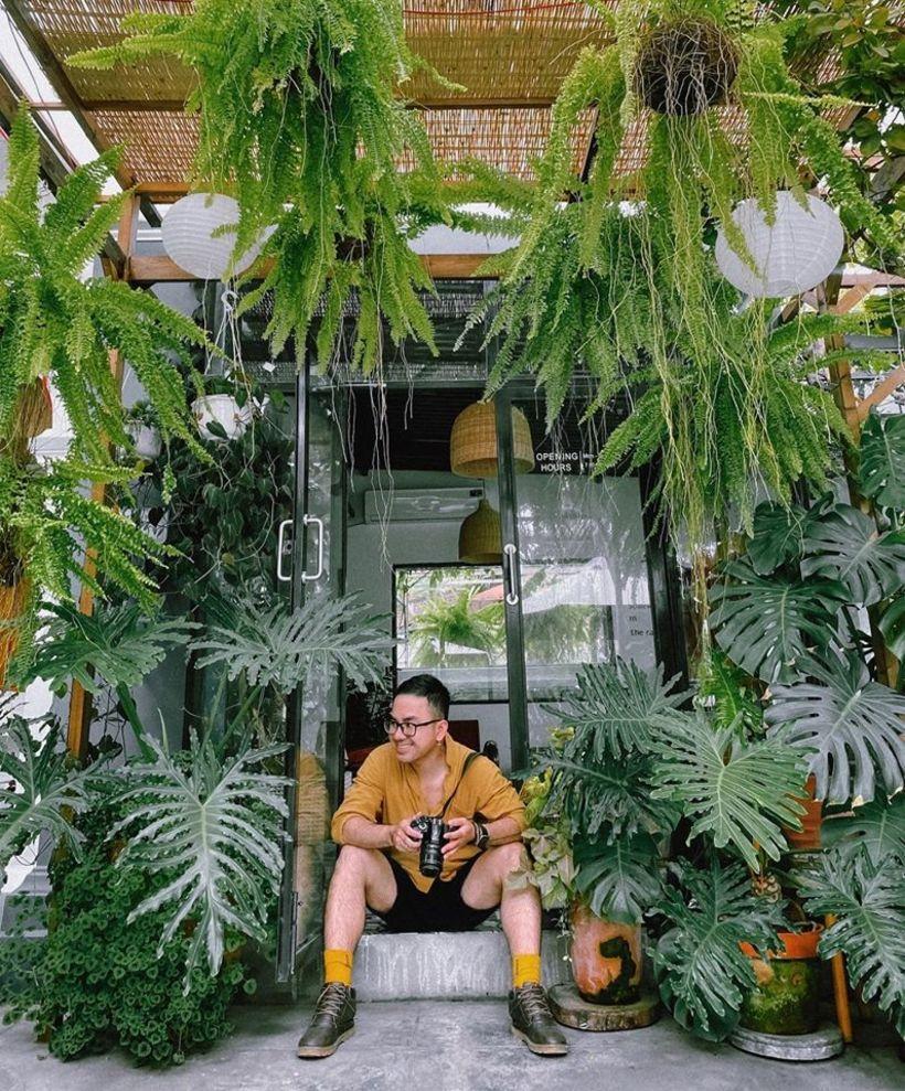 Xưởng 1925 Roastery: Quán cafe xanh mát triệu góc sống ảo ở Nha Trang