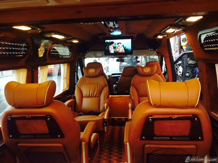 Những nhà xe limousine Hà Nội Sầm Sơn giường nằm tốt nhất