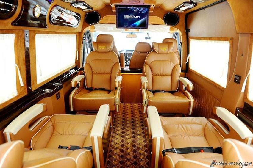 TOP nhà xe limousine Sài Gòn Mũi Né Phan Thiết giường nằm tốt nhất