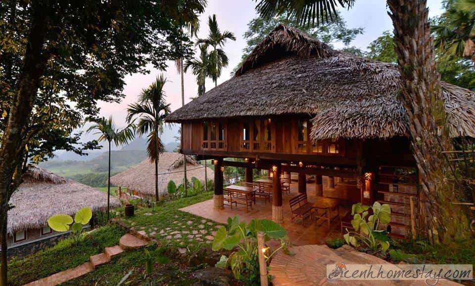 Top 12 Homestay Pù Luông – Thanh Hóa giá rẻ view đẹp ngắm đồng lúa