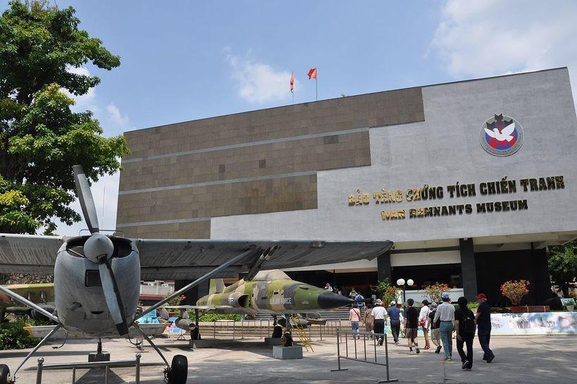 Bảo tàng chứng tích chiến tranh: giá vé, kinh nghiệm tham quan chi tiết