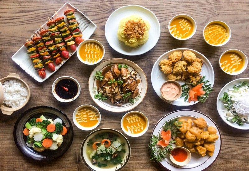 Top 10 Nhà hàng quán ăn chay quận 7 ngon có không gian thanh tịnh