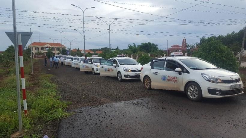 Danh sách số điện thoại taxi Đồng Xoài, Bình Phước giá rẻ uy tín