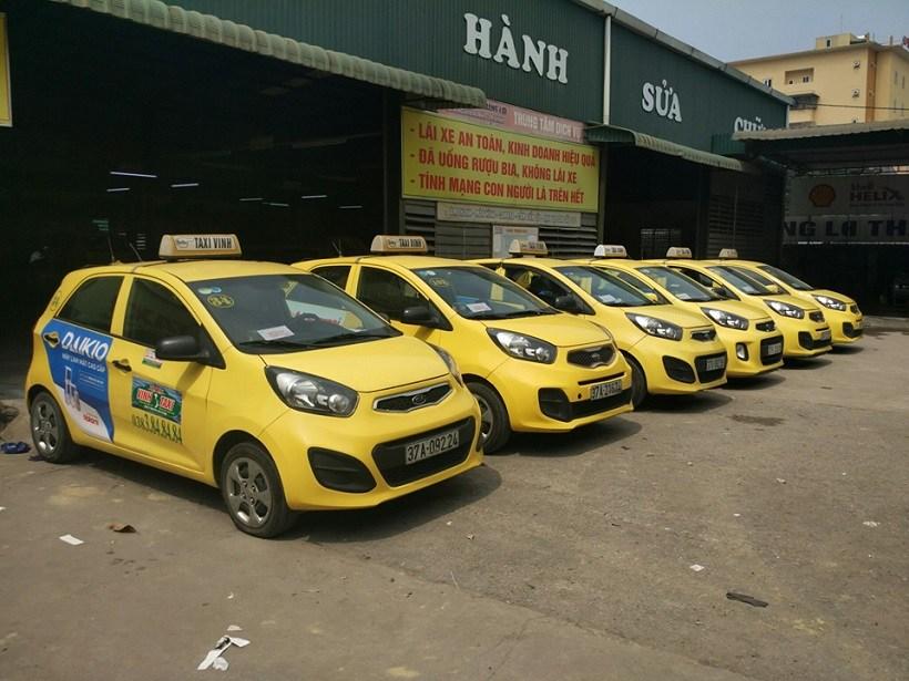 Danh sách số điện thoại các hãng taxi Vinh, Nghệ An giá rẻ uy tín