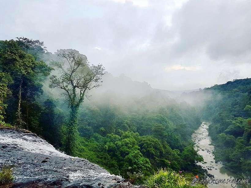 Review kinh nghiệm trekking thác K50 (Hang Én) Kbang Gia Lai tự tức