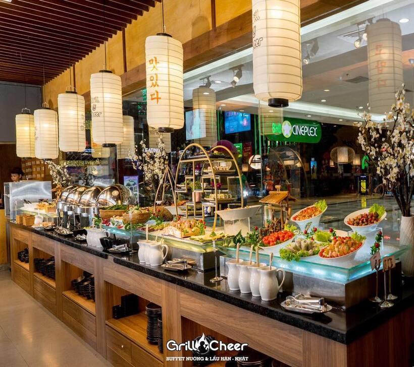 Top 15 Nhà hàng quán buffet Cần Thơ ngon giá rẻ và nổi tiếng nhất