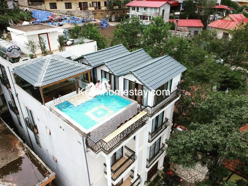 The Upper House Sapa Homestay có bể bơi dát vàng cực hot view đẹp