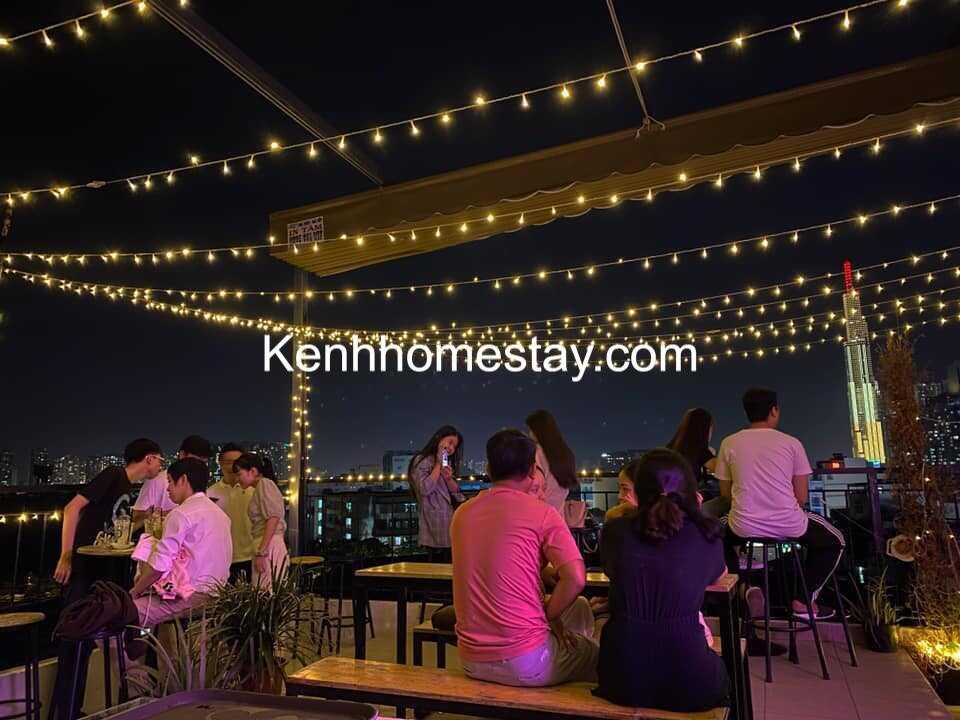 Top 15 Quán cafe sân thượng view đẹp ở Sài Gòn – TPHCM đáng đi nhất