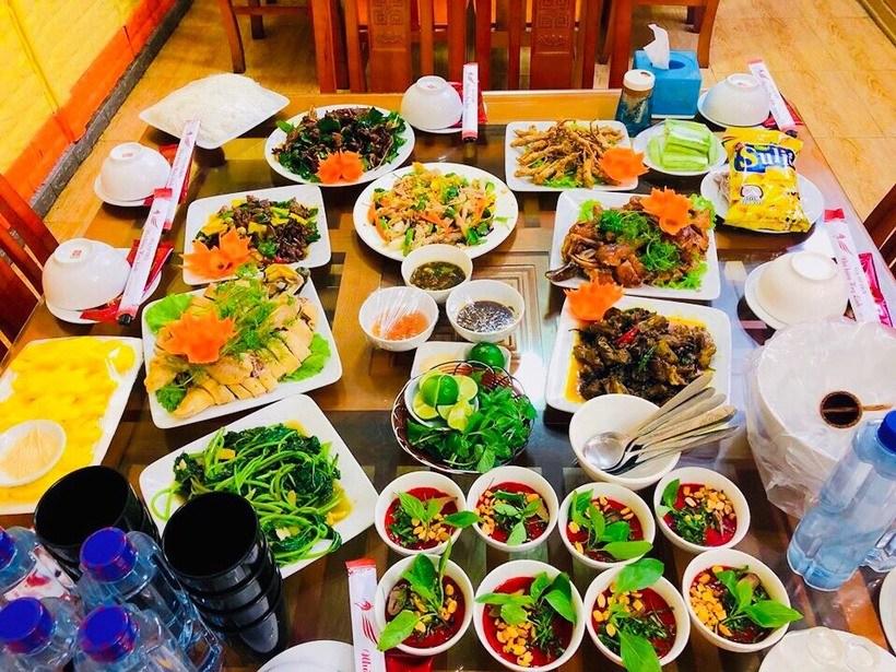 40 món vịt trời Nhà hàng Huy Linh Vua Vịt Trời ngon số 1 ở Cao Bằng