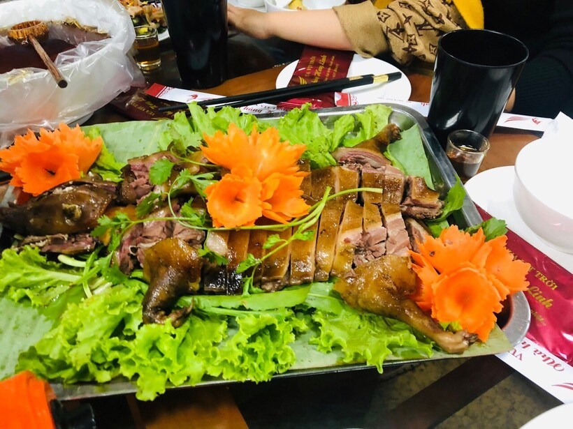 Khám phá 40 món vịt trời Nhà hàng Huy Linh Vua Vịt Trời ngon số 1 ở Cao Bằng