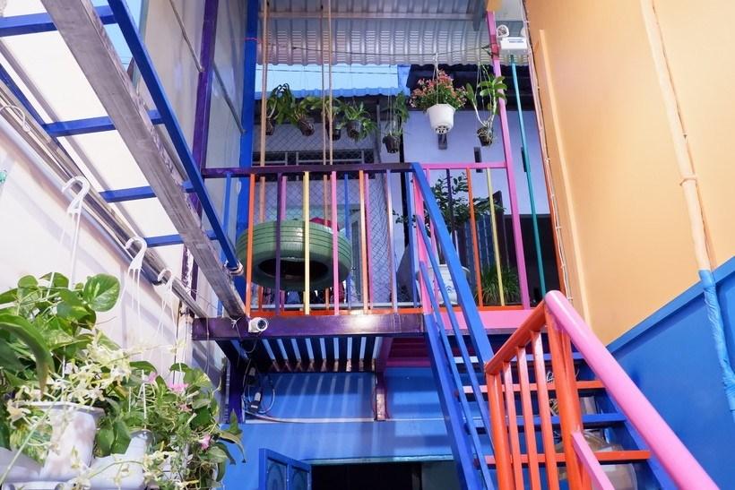 Winter Spring Colors house, căn nhà đa sắc màu rực rỡ ở Cần Thơ