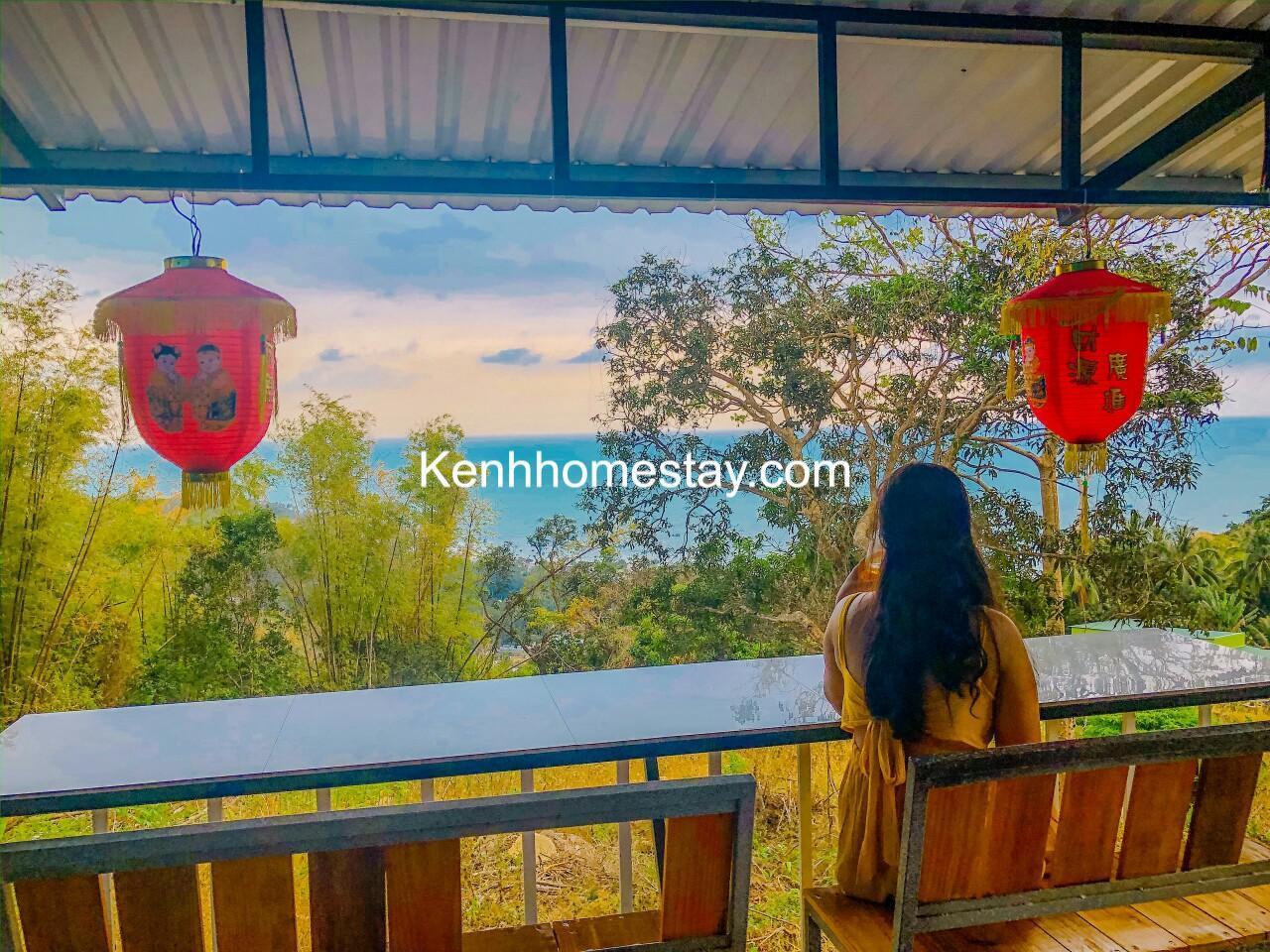 Homestay Đề Thơ: Căn nhà gỗ decor xinh view biển đẹp ở Hòn Sơn