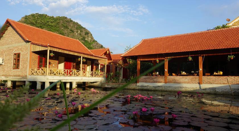 """Trang An Village Homestay nhà tranh mái ngói"""" chân quê ở Ninh Bình"""