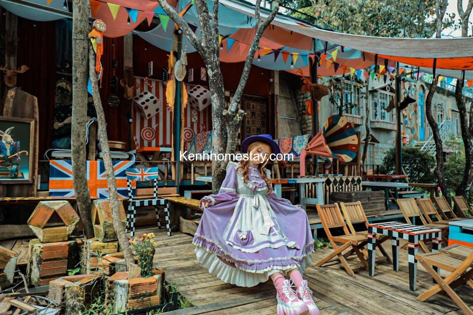 """Magic Land – Dalat: Xôn xao không gian cafe tựa xứ sở thần tiên đầy """"u mê"""""""