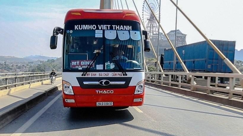 Nhà xe Kumho đi Hà Nội Quảng Ninh: Ghế ngồi 45 chỗ, limousine VIP 9 chỗ