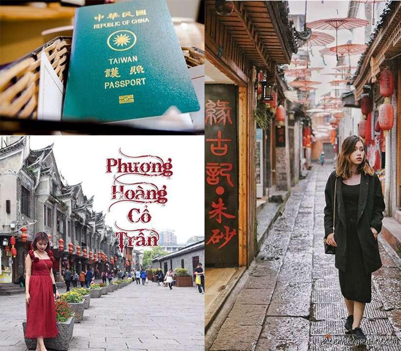 Review kinh nghiệm du lịch phượt Phượng Hoàng Cổ Trấn tự túc giá rẻ