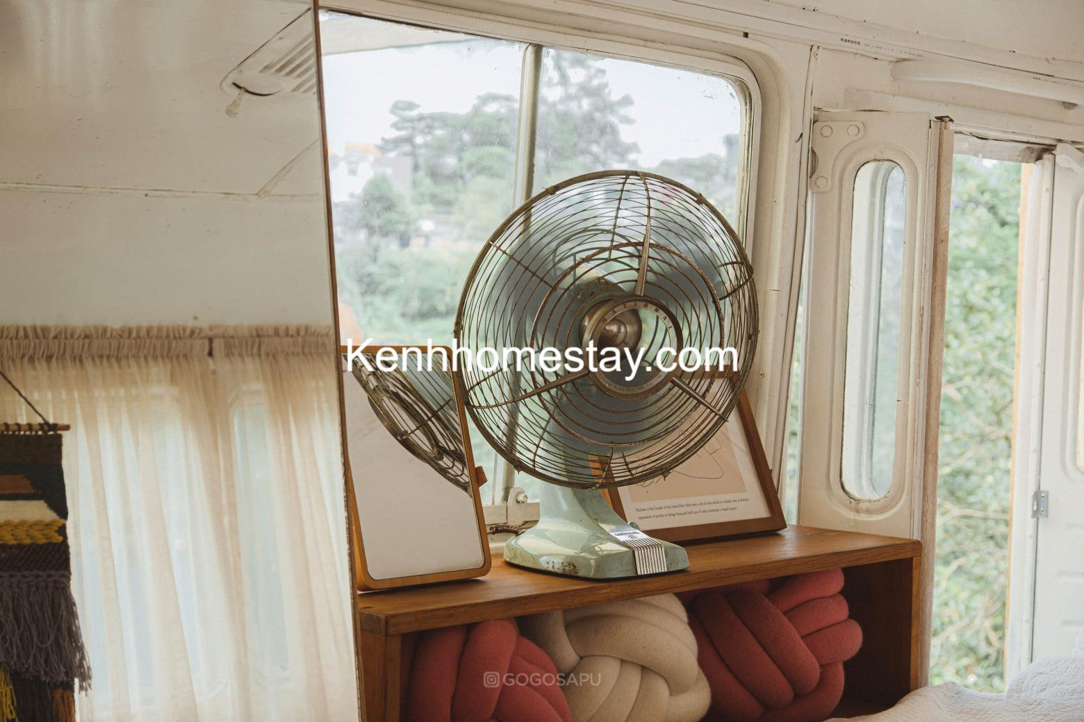 The Camp-Inn: Homestay xe buýt cực xinh đầy mộng mơ giữa lòng Đà Lạt