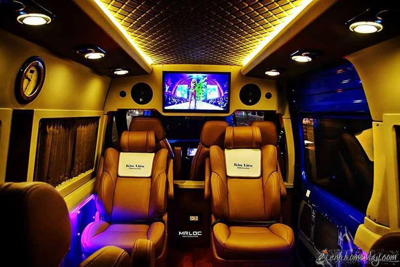 Top 3 nhà xe limousine Đà Nẵng Quy Nhơn Bình Định giường nằm tốt nhất