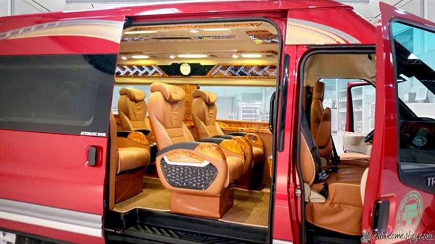 Top 3 Nhà xe limousine Hà Nội Huế giường nằm giá rẻ đón tận nơi