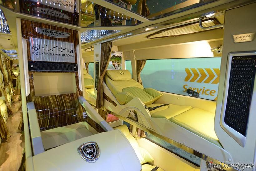 Top 3 nhà xe limousine Sài Gòn Bạc Liêu giường nằm tốt nhất