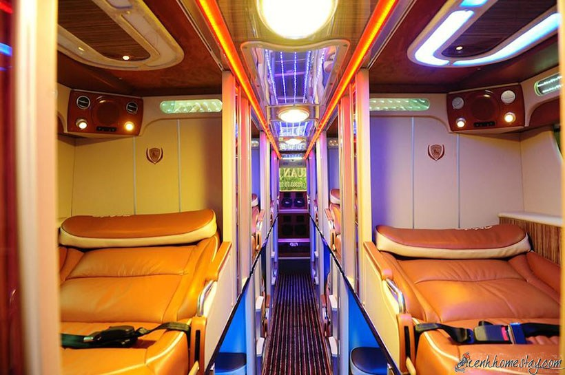 Những nhà xe limousine Sài Gòn Bạc Liêu giường nằm tốt nhất