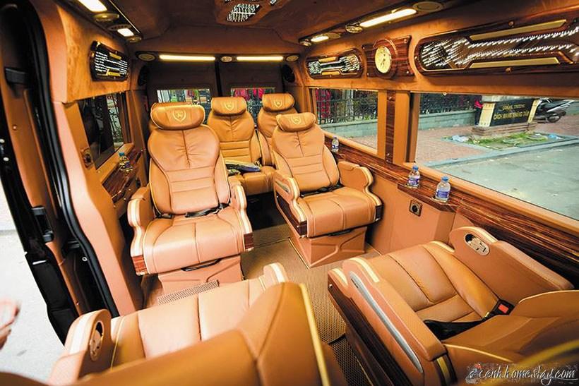 Top 3 Nhà xe limousine Sài Gòn Châu Đốc Long Xuyên An Giang tốt nhất