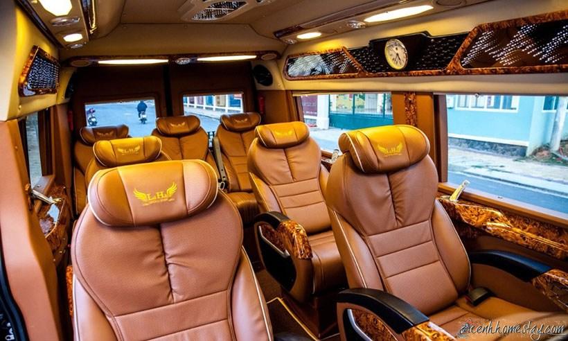 TOP Nhà xe limousine Sài Gòn Lagi Bình thuận giường nằm tốt nhất