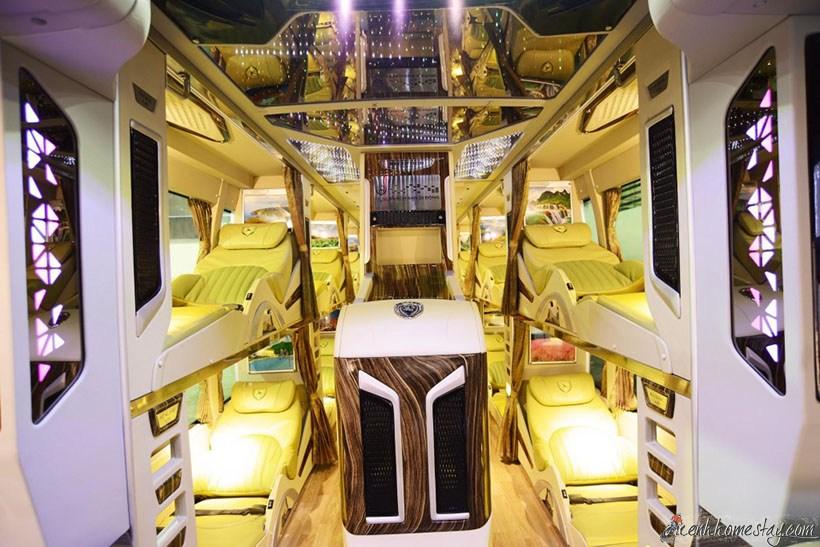 Top 4 Nhà Xe limousine Sài Gòn Rạch Giá giường nằm chất lượng cao