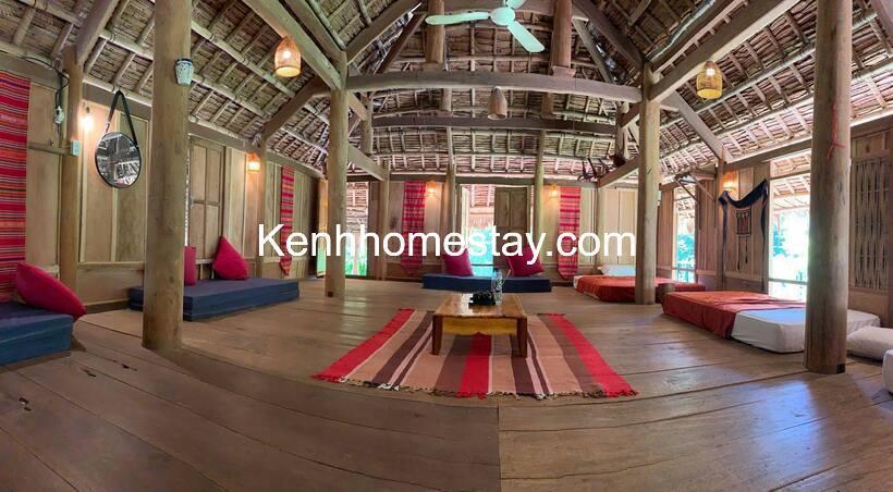 Bản Hiêu Garden Lodge: Homestay phong cách nhà sàn 100% ở Pù Luông