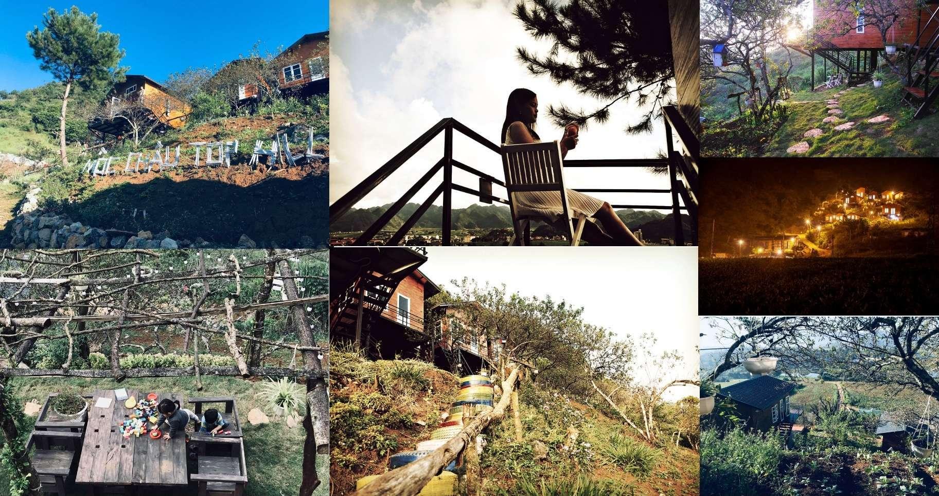 """Lịm tim với """"chốn bồng lai tiên cảnh"""" của ngôi nhà nhỏ trên thảo nguyên xanh Mộc Châu Tophill"""