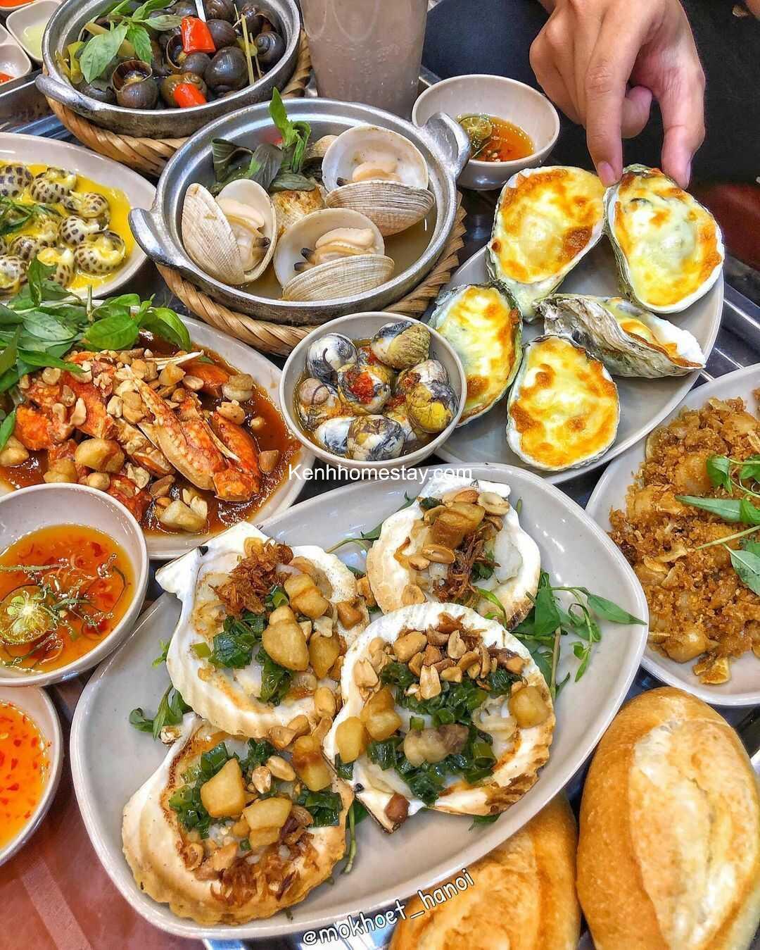 Top 10 Quán ốc ngon ở Cầu Giấy – Hà Nội nổi tiếng đông khách nhất