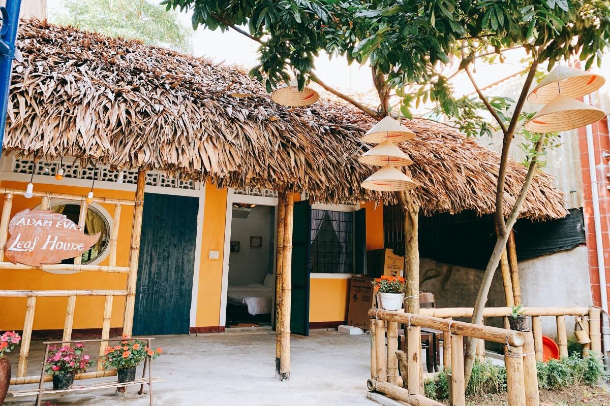 Hóa cô thôn nữ sống an nhiên tại Adam Eva Leaf homestay Quảng Bình