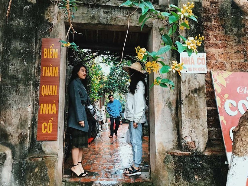 Làng cổ Đường Lâm nơi được mệnh danh là Cổ Trấn phiên bản Việt